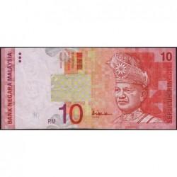 Malaisie - Pick 42c - 10 ringgit - Série CQ - 1999 - Etat : TB+