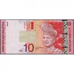 Malaisie - Pick 46 - 10 ringgit - Série FQ - 2004 - Etat : NEUF