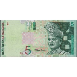 Malaisie - Pick 41b - 5 ringgit - Série AN - 2001 - Etat : NEUF