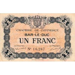 Bar-le-Duc - Pirot 19-3 - 1 franc - Sans date (1915) - Etat : TTB