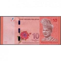 Malaisie - Pick 53a - 10 ringgit - Série AD - 2012 - Etat : NEUF