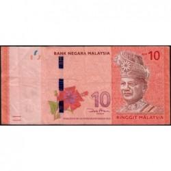 Malaisie - Pick 53a - 10 ringgit - Série AP - 2012 - Etat : TTB-