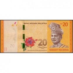 Malaisie - Pick 54a - 20 ringgit - Série CK - 2012 - Etat : NEUF