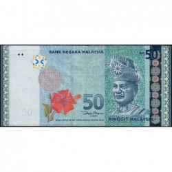 Malaisie - Pick 50a_1 - 50 ringgit - Série EW - 2009 - Etat : TTB