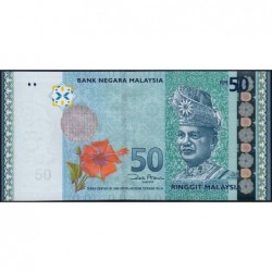 Malaisie - Pick 50a_1 - 50 ringgit - Série GG - 2009 - Etat : NEUF