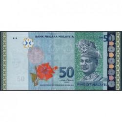 Malaisie - Pick 50a_2 - 50 ringgit - Série JB - 2009 - Etat : NEUF