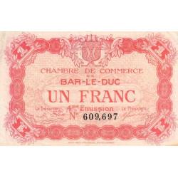 Bar-le-Duc - Pirot 19-15 - 1 franc - 4me émission (1920) - Etat : TTB-