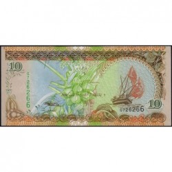Maldives - Pick 19c - 10 ruffiyaa - Série G - 01/07/2006 - Etat : NEUF