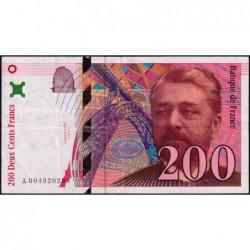 F 75-01 - 1995 - 200 francs - Eiffel - Série A - Etat : TB+