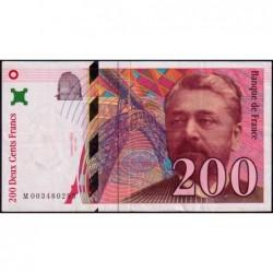 F 75-01 - 1995 - 200 francs - Eiffel - Série M - Etat : TTB-