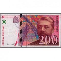 F 75-01 - 1995 - 200 francs - Eiffel - Série R - Etat : TB+