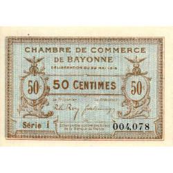 Bayonne - Pirot 21-26 - 50 centimes - Série i - 22/05/1916 - Etat : NEUF
