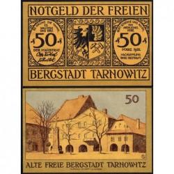 Pologne - Notgeld - Tarnowitz (Tarnowskie Gory) - 50 pfennig - 03/1921 (1922) - Etat : NEUF