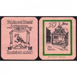 Allemagne - Notgeld - Trappstadt - 10 pfennig - 31/12/1920 - Etat : NEUF