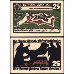 Allemagne - Notgeld - Vechta - 25 pfennig - 15/03/1922 - Etat : SPL