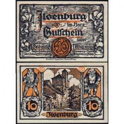 Allemagne - Notgeld - Ilsenburg - 10 pfennig - 01/06/1921 - Etat : NEUF