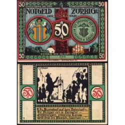 Allemagne - Notgeld - Zörbig - 50 pfennig - Série II - 1921 - Etat : SUP