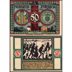 Allemagne - Notgeld - Zörbig - 50 pfennig - Série VI - 1921 - Etat : SPL