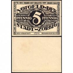 Allemagne - Notgeld - Zörbig - 5 pfennig - Série II - 1921 - Etat : pr.NEUF