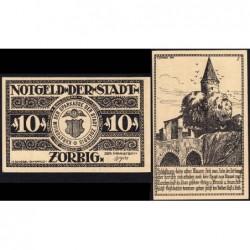 Allemagne - Notgeld - Zörbig - 10 pfennig - Série I - 1921 - Etat : NEUF