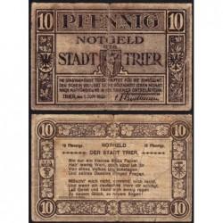 Allemagne - Notgeld - Trier - 10 pfennig - 01/06/1920 - Etat : TB-
