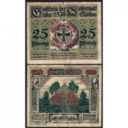 Allemagne - Notgeld - Soltau - 25 pfennig - 01/06/1920 - Etat : B