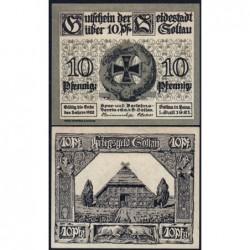 Allemagne - Notgeld - Soltau - 10 pfennig - 01/07/1921 - Etat : SPL+