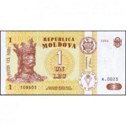 Moldavie - Pick 8a - 1 leu - Série A.0023 - 1994 - Etat : NEUF