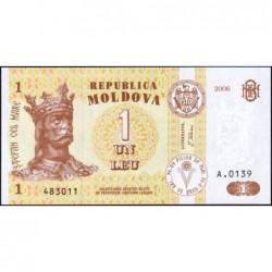 Moldavie - Pick 8g - 1 leu - Série A.0139 - 2006 - Etat : NEUF