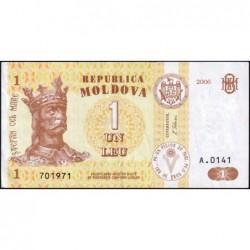 Moldavie - Pick 8g - 1 leu - Série A.0141 - 2006 - Etat : NEUF