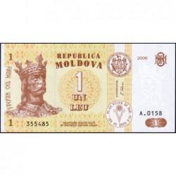 Moldavie - Pick 8g - 1 leu - Série A.0158 - 2006 - Etat : NEUF