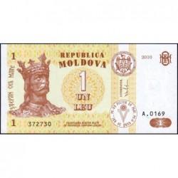 Moldavie - Pick 8h - 1 leu - Série A.0169 - 2010 - Etat : NEUF