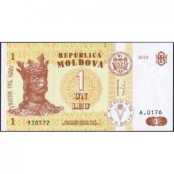Moldavie - Pick 8i - 1 leu - Série A.0176 - 2013 - Etat : NEUF