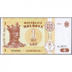 Moldavie - Pick 8i - 1 leu - Série A.0211 - 2013 - Etat : NEUF