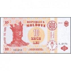 Moldavie - Pick 10g - 10 lei - Série C.0174 - 2013 - Etat : NEUF