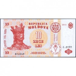 Moldavie - Pick 10g - 10 lei - Série C.0191 - 2013 - Etat : NEUF