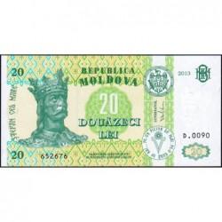Moldavie - Pick 13j - 20 lei - Série D.0090 - 2013 - Etat : NEUF