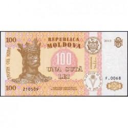 Moldavie - Pick 15c - 100 lei - Série F.0068 - 2013 - Etat : NEUF