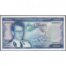 Congo Belge - Pick 35 - 1'000 francs - Série B - 15/08/1959 - Etat : SPL+