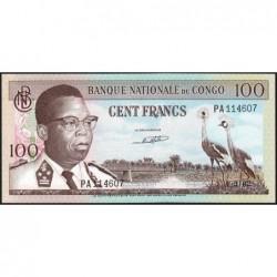 Congo (Kinshasa) - Pick 6a - 100 francs - Série PA - 01/03/1962 -  Etat : pr.NEUF