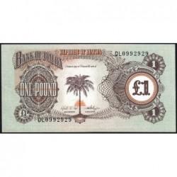 Biafra - Pick 5a - 1 pound - Série DL - 1969 - Etat : NEUF