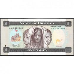 Erythrée - Pick 1 - 1 nakfa - Série AA - 24/05/1997 - Etat : NEUF
