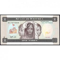 Erythrée - Pick 1 - 1 nakfa - Série AC - 24/05/1997 - Etat : pr.NEUF