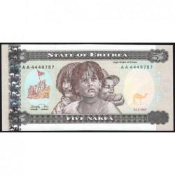 Erythrée - Pick 2 - 5 nakfa - Série AA - 24/05/1997 - Etat : NEUF
