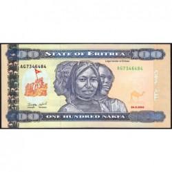 Erythrée - Pick 8 - 100 nakfa - Série AG - 24/05/2004 - Etat : NEUF