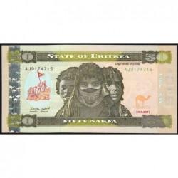 Erythrée - Pick 9 - 50 nakfa - Série AJ - 24/05/2011 - Etat : NEUF