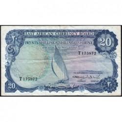 Afrique Orientale Britannique - Pick 47 - 20 shillings - Série T - 1964 - Etat : TB+