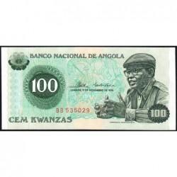 Angola - Pick 111- 100 kwanzas - Série BB - 11/11/1976 - Etat : NEUF