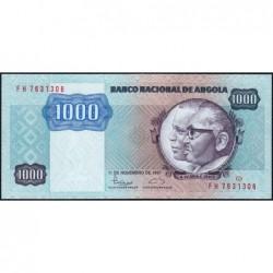 Angola - Pick 121b - 1'000 kwanzas - Série FH - 11/11/1987 - Etat : NEUF