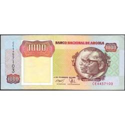 Angola - Pick 129b - 1'000 kwanzas - Série CE - 04/02/1991 - Etat : SUP